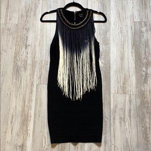 Bandage fringe dress